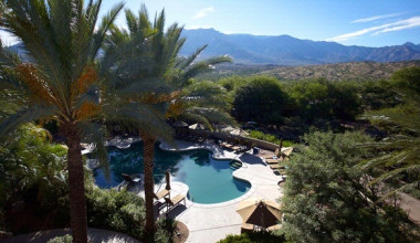 Outdoor Pool at Miraval