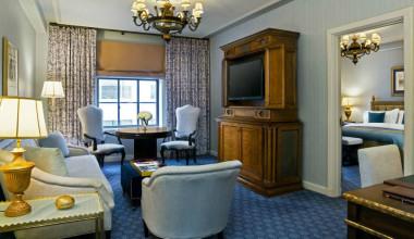 Guest room at The St. Regis Washington, D.C.