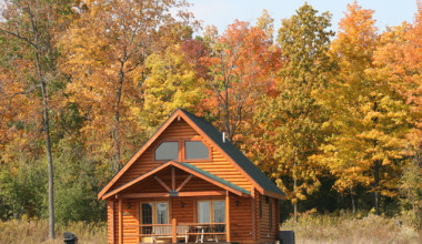 Cabin exterior at Cobtree Vacation Rental Homes.