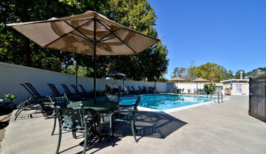 Outdoor pool at Best Western Stevenson Manor Inn.