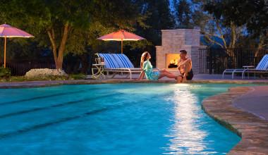 Outdoor pool at Omni Barton Creek Resort & Spa.