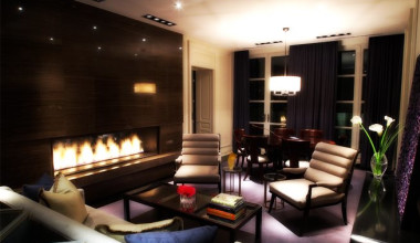 Guest Suite at the Hazelton Hotel