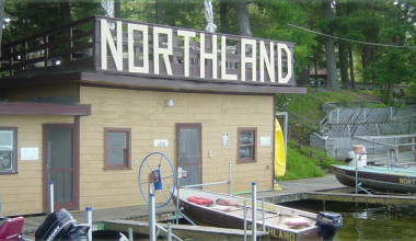 Exterior view of Northland Resort.