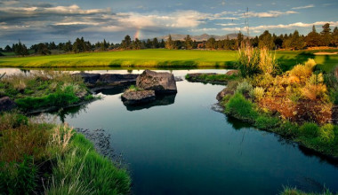 Nicklaus Course view at Pronghorn Resort.