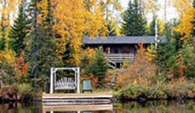 Lake Dock at Bearskin Lodge