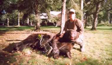 Hunting at Sandy Beach Lodge.