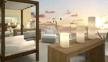 Exterior Lounge Area at Barcelo Los Cabos