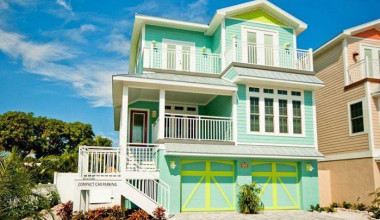 Vacation rental exterior at Island Real Estate.
