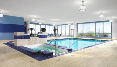Indoor Pool at Four Points by Sheraton Niagara Falls - Fallsview