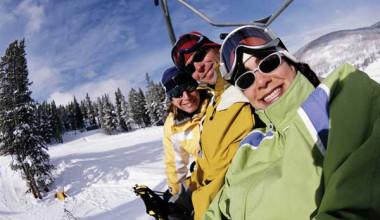 Skiing fun at Wyndham Vacation Resorts Shawnee Village.
