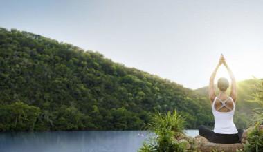 Morning Yoga at Lake Austin Spa Resort