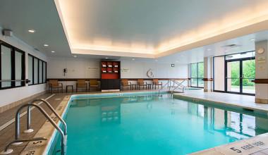 Indoor Pool at the Courtyard Inn By Marriott Scranton