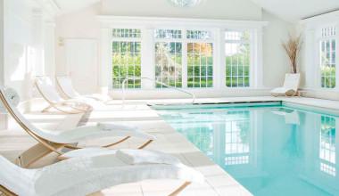 Indoor pool at Mayflower Inn.