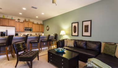 Rental interior at Orlando Luxury Escapes Vacation Rentals.