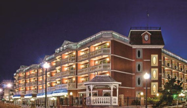 Boardwalk Plaza Hotel exterior.