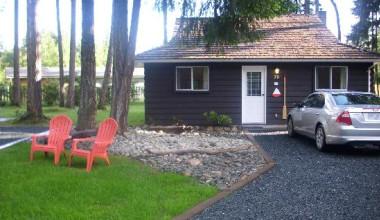 Cabin at Beach Acres Resort.