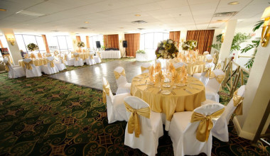 Receptions at Sirata Beach Resort.