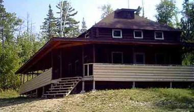 Lodge Exterior at Life of Riley Resort