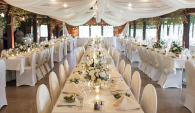 Wedding reception at Fair Hills Resort.