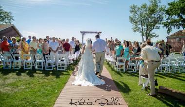 Wedding at Appeldoorn's Sunset Bay Resort.