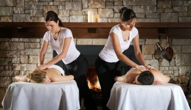 Spa services at Chateau Beauvallon.