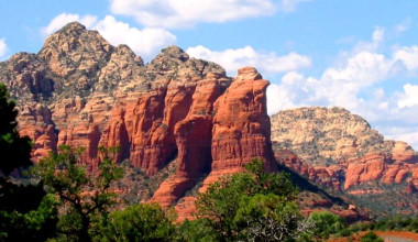 Canyon view at Inn of Sedona.