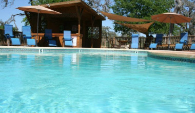Outdoor pool at West 1077 Guest Ranch.