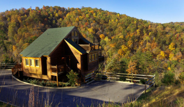 Exterior view of Westgate Smoky Mountain Resort.
