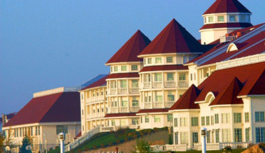 Exterior View of Blue Harbor Resort