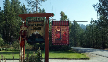 Front Entrance at Natapoc Lodging