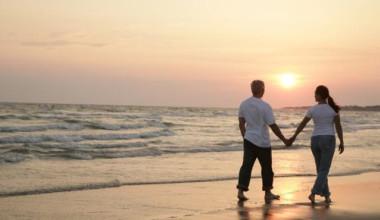 Romantic Beach Walk at Bald Head Island