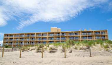 Exterior view of Quality Inn Oceanfront Ocean City.