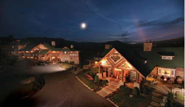 Nighttime View of The Lodge at Buckberry Creek