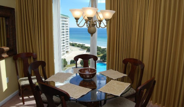 Guest dining room at Silver Shells Beach Resort & Spa.