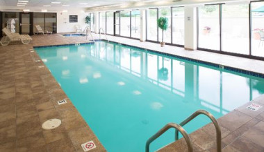 Indoor Pool at the Hampton Inn & Suites Wilkes-Barre