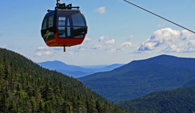 Gondola view at Inn at The Mountain.
