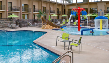Indoor pool at Best Western Plus Bloomington at Mall Of America.