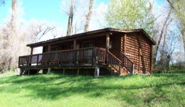 Cabin exterior at The Lodge at Palisades Creek.
