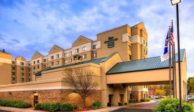 Exterior view of Homewood Suites by Hilton Minneapolis – Mall of America.