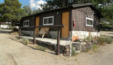 Cabin exterior at Trail Shop Restaurant and Inn.