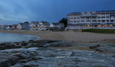 Exterior view of Madison Beach Hotel.