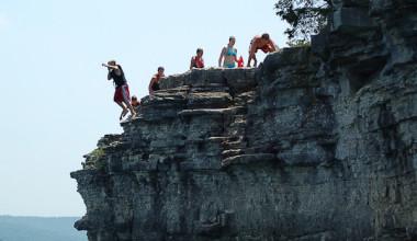 Outdoor activities at Alpine Lodge Resort.