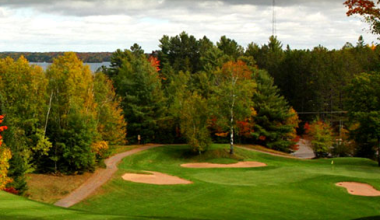 Golf course at Lakewoods Resort.