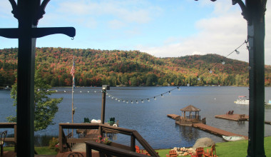 View from Big Moose Inn.