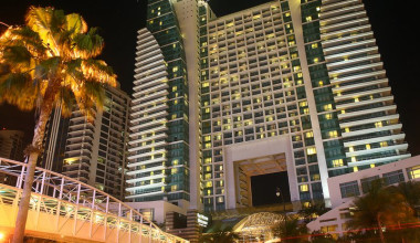 Exterior view of The Westin Diplomat Resort.