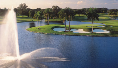 Golf course at Doral Golf Resort & Spa.