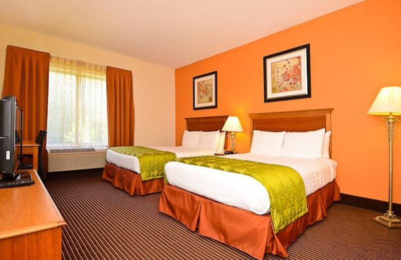 Guest Room at the Fairfield Inn & Suites