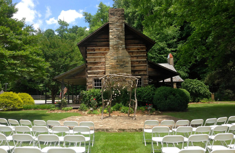 Wedding at Leatherwood Mountains Resort.