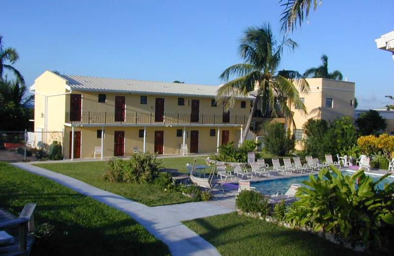 Exterior view of Orange Hill Beach Inn.