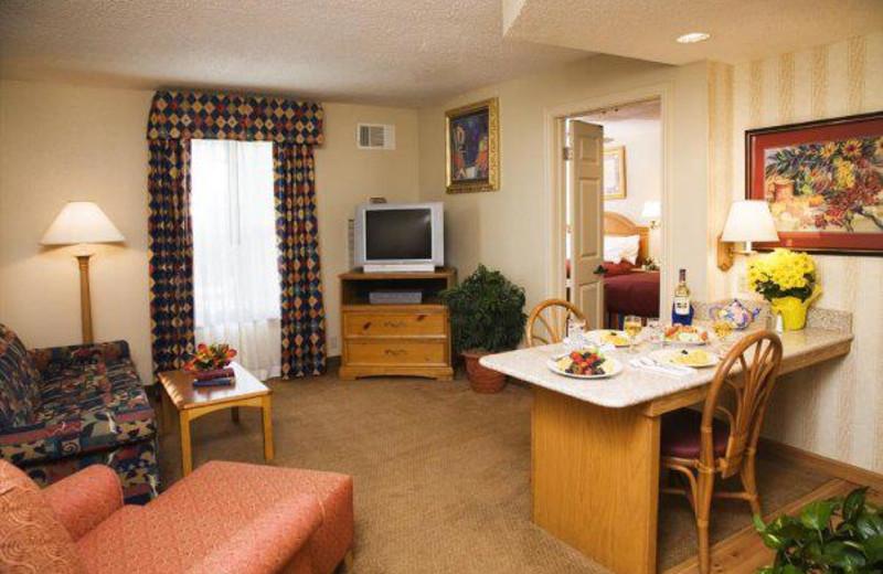 Suite Interior at Homewood Suites